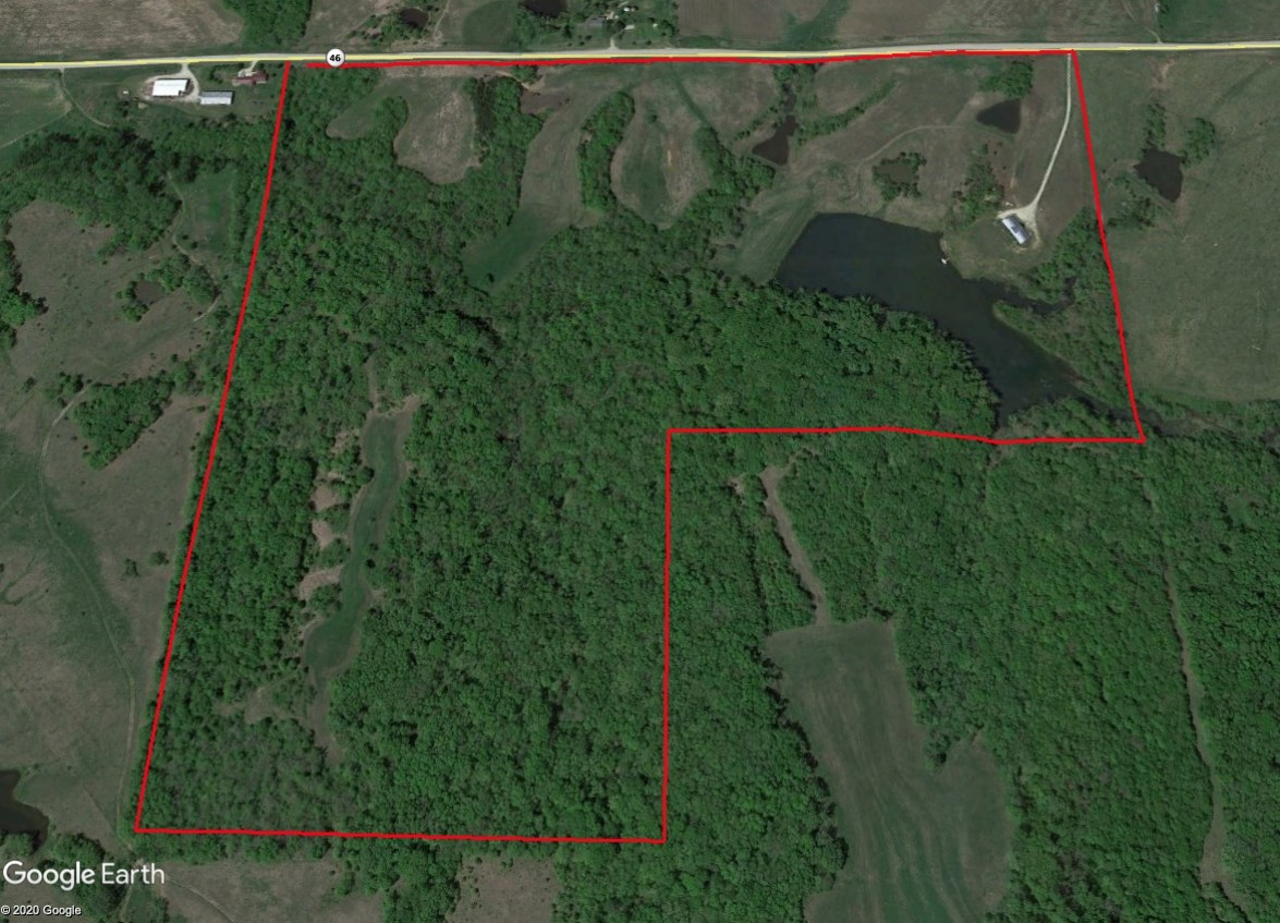 Worth County Hunting and Fishing Tract with Lodge For Sale