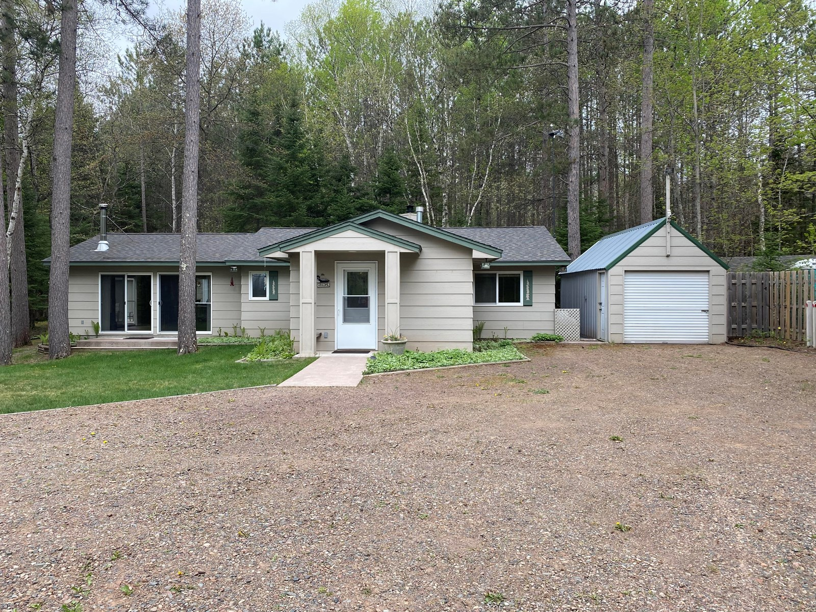 Country Home for Sale with Sturgeon Lake Deeded Access