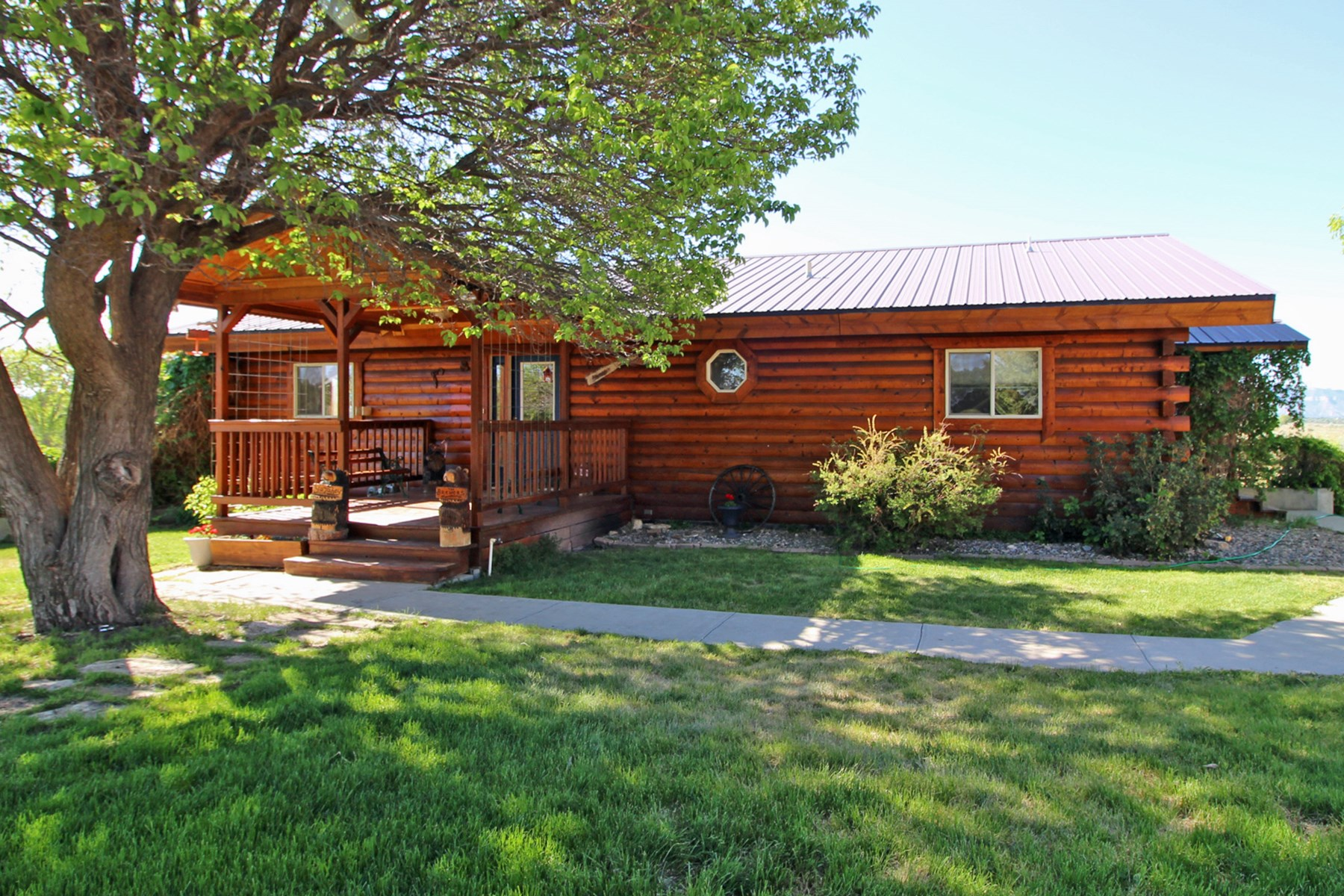 Log home on 4 acres with irrigation in Southwest, Colorado