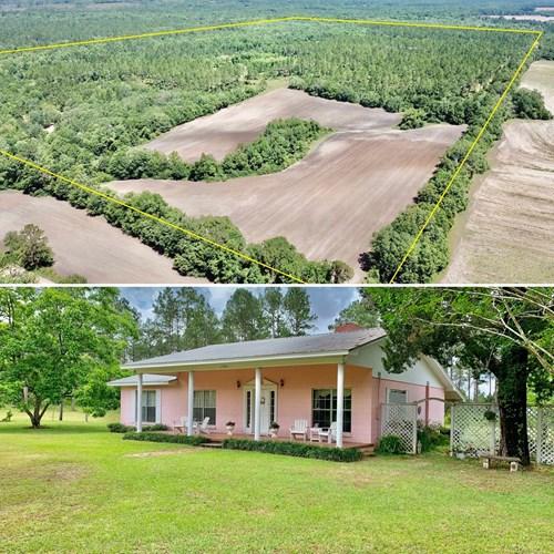 Secluded Holmes County Florida Farm  Bonifay FL Hunting Land