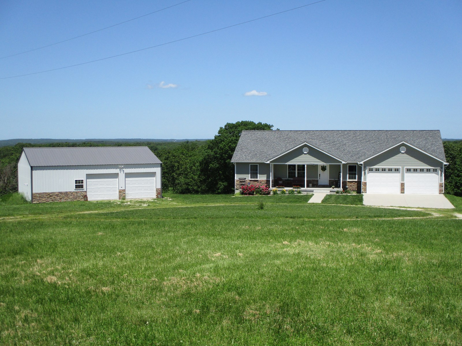 Country Home with Recreational Land For Sale in Salem, MO