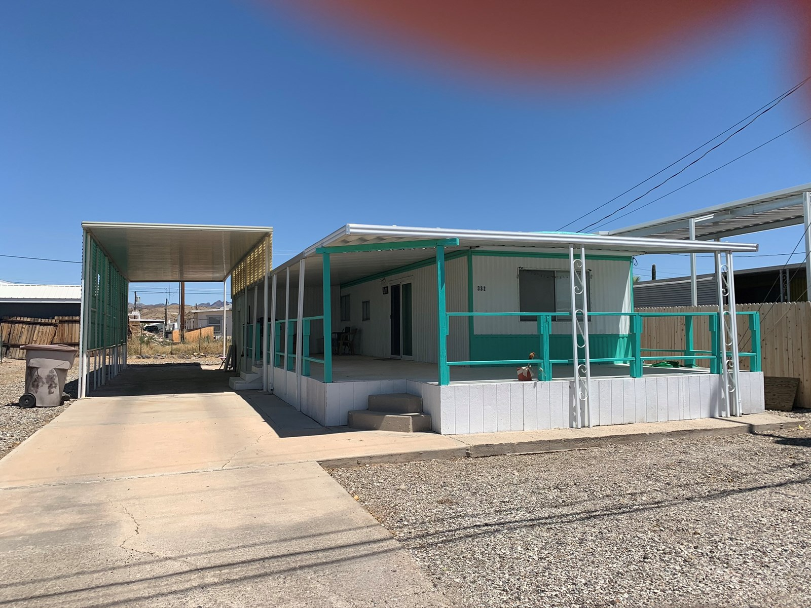 Parker AZ River Access Home in Bluewater Lagoon