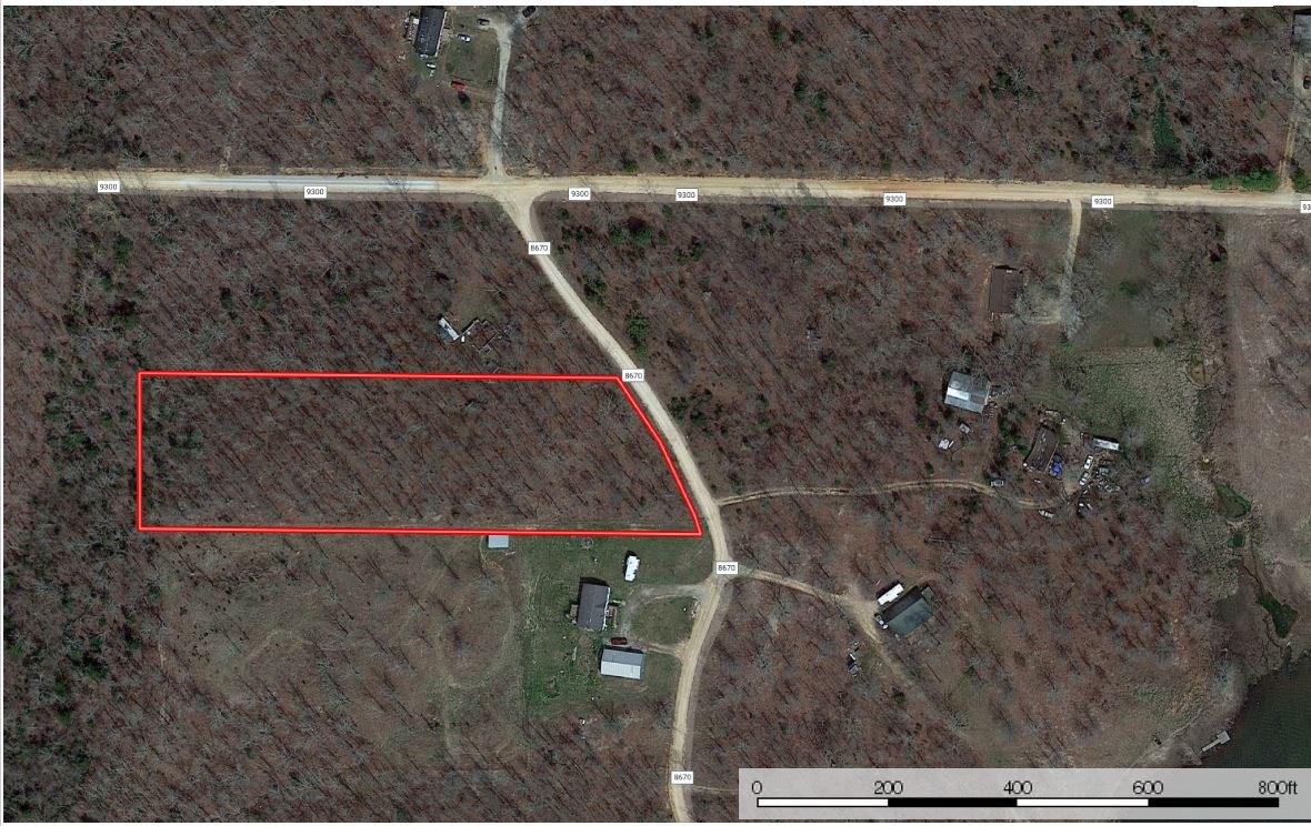 Spring Lake Estates Lot for Sale in West Plains, MO., 2.75 A