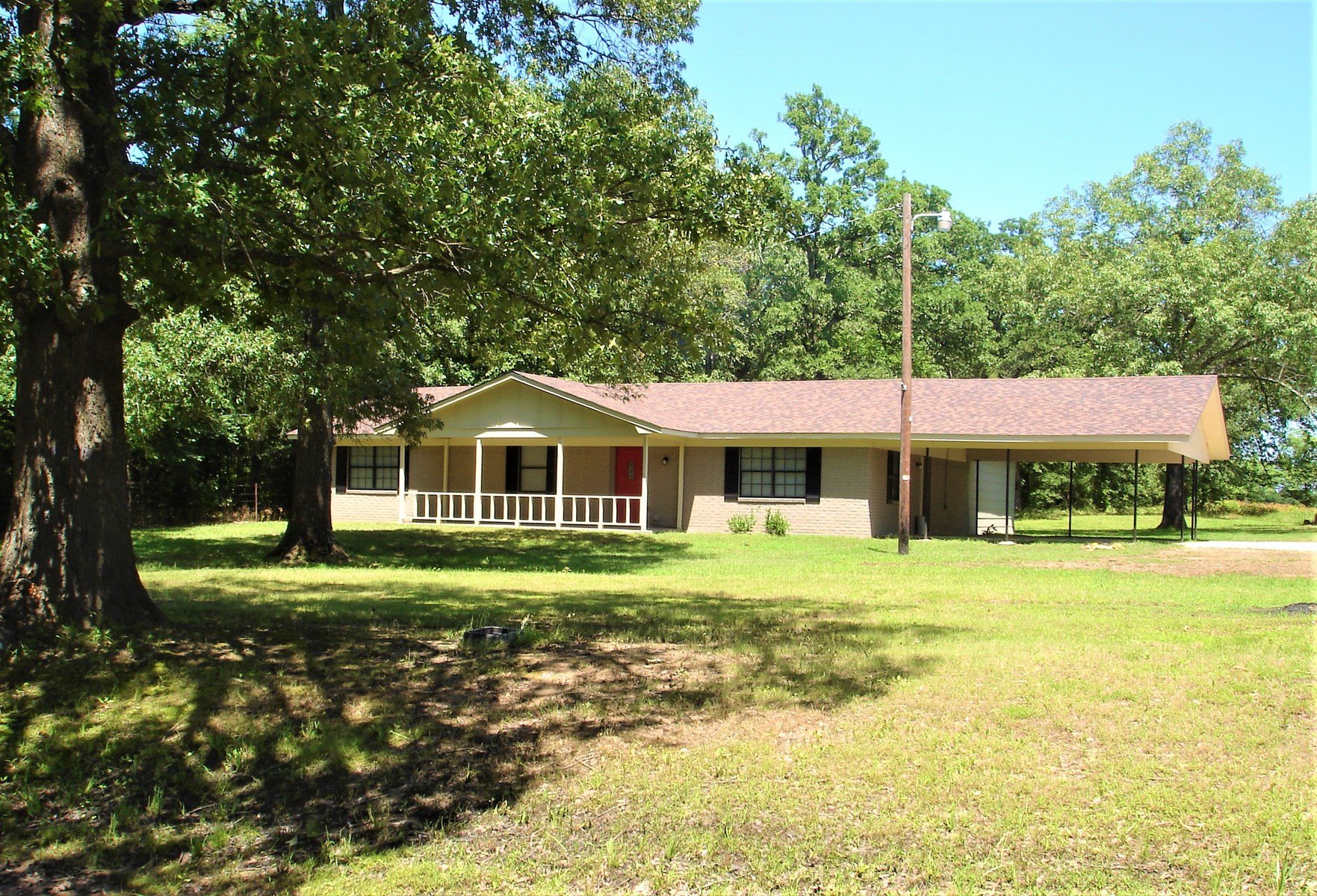 Country Home On Small Acreage For Sale Blossom Texas