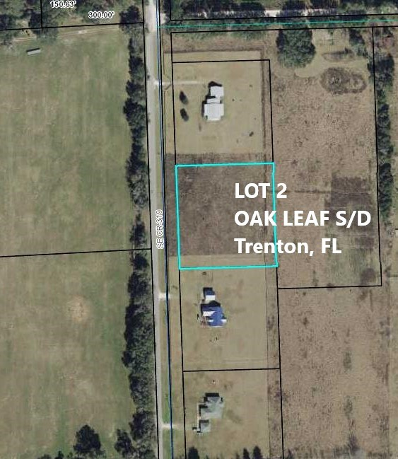 VACANT LOT FOR SALE-OAK LEAF S/D-TRENTON,GILCHRIST CO, FL