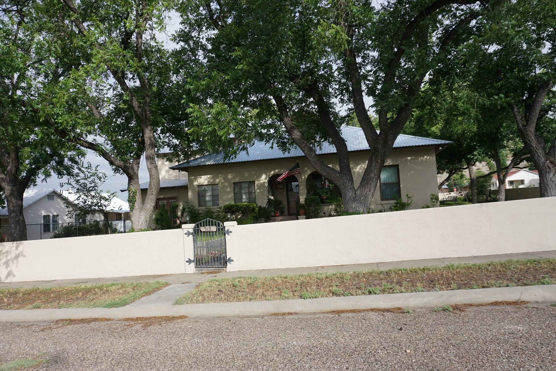 HISTORIC 5 BR 3 BA HOME FOR SALE IN SANDERSON, TX
