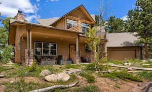 NO AMENITIES SPARED IN THIS FURNISHED MOUNTAIN HOME