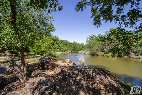 River Front Home with Pool and land in San Angelo, Texas