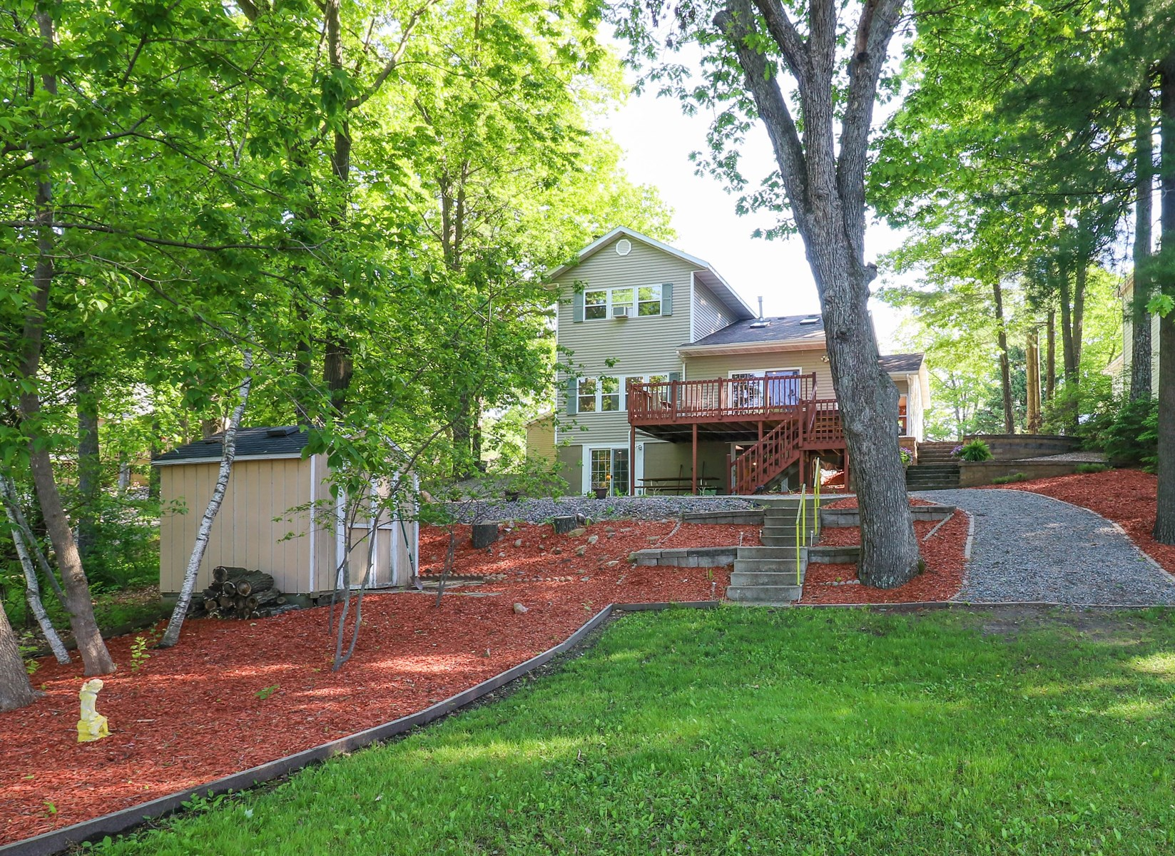 Chain O' Lakes Home for sale Waupaca, WI - Lakefront Home