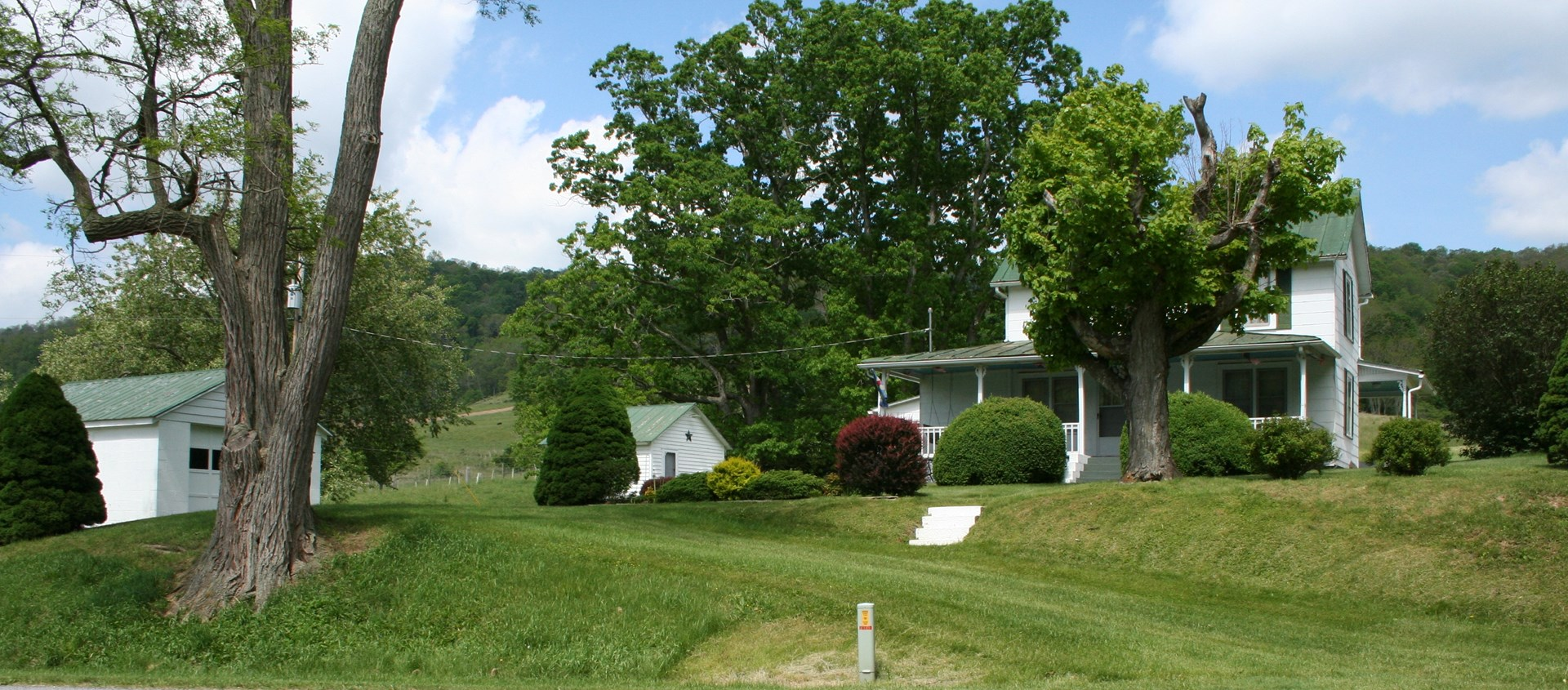 Farm House w/5 outbuildings on 11 acres in Highland Co. VA