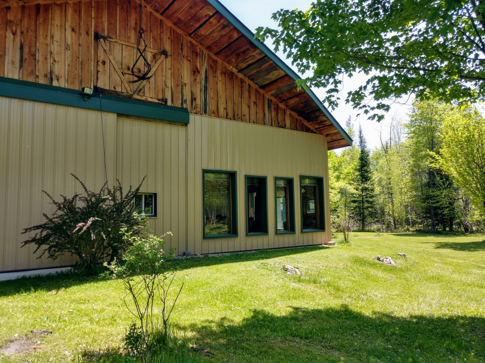 OFF-GRID HOME WITH 40 ACRES - GILCHRIST CREEK IN ATLANTA MI