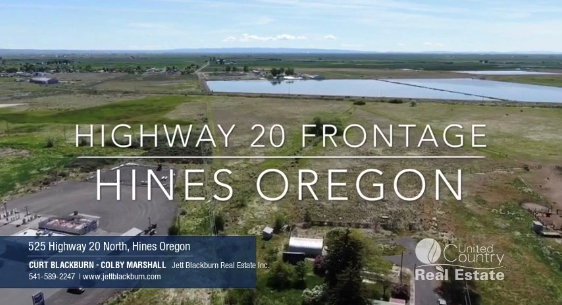 Highway 20 Commercial & Industrial Lot - Hines Oregon