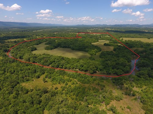 Kiamichi Frontage River Ranch – Recreational Property