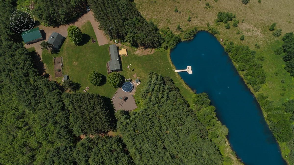 Remarkable Retreat Near the Blue Hills of Rusk County, WI
