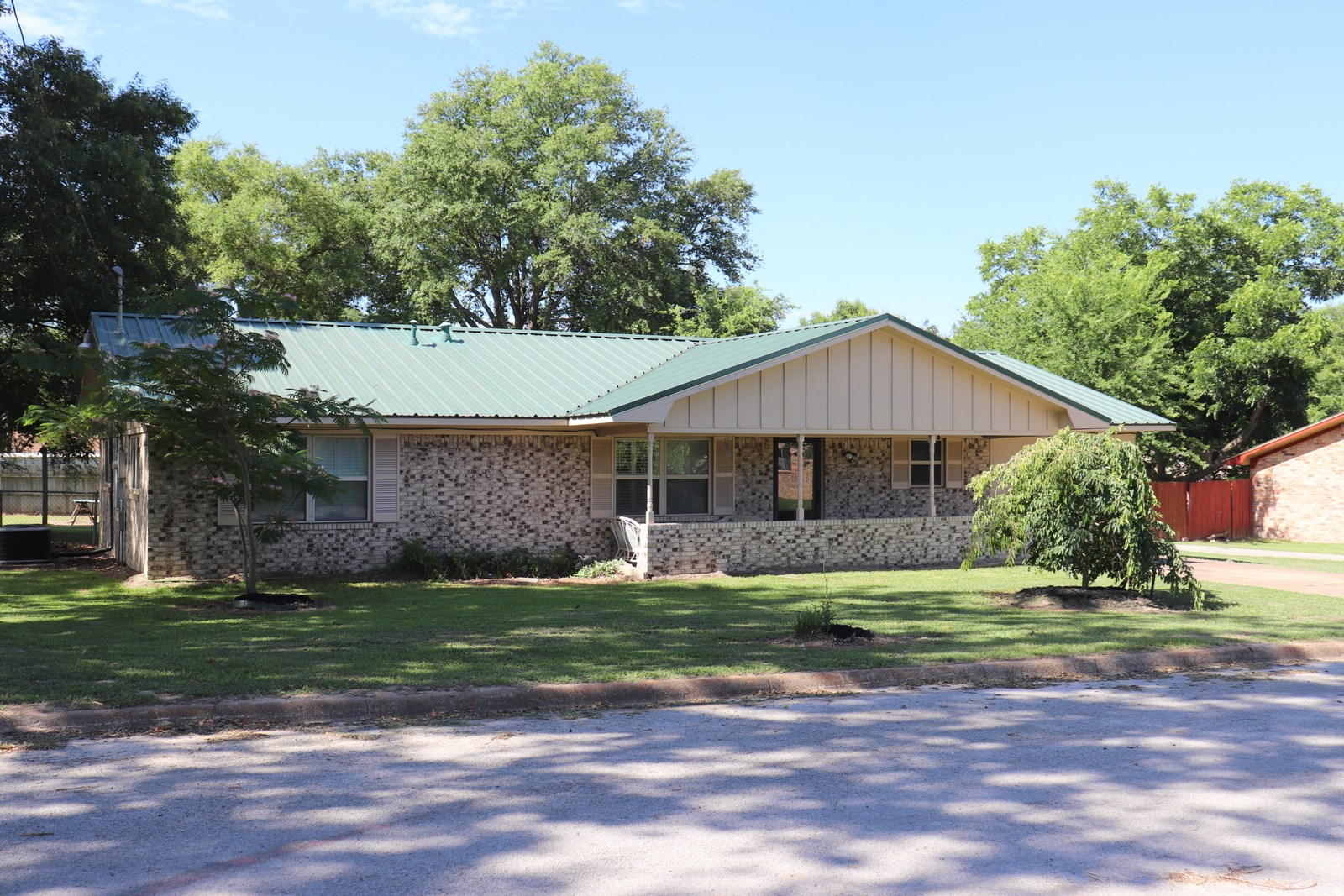 MINEOLA TEXAS HOME FOR SALE - INSULATED WORK SHOP - EAST TX