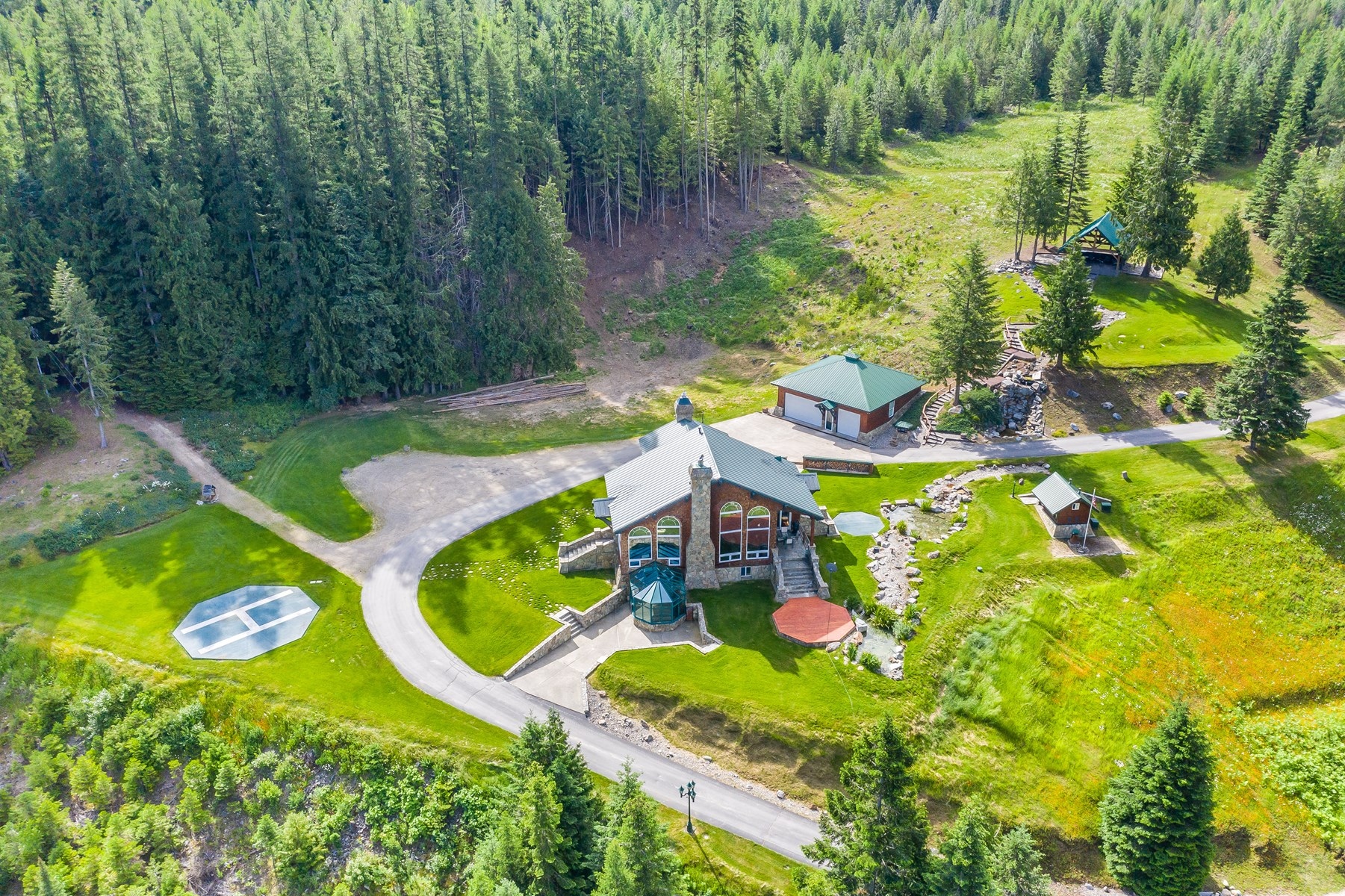 MONTANA LAKE HOME FOR SALE