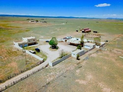 New Mexico Equine Property, Pueblo Style Estate For Sale