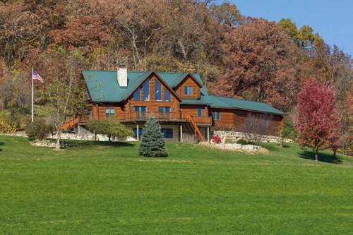 Must-See Log Home & Investment Property For Sale in Vernon C