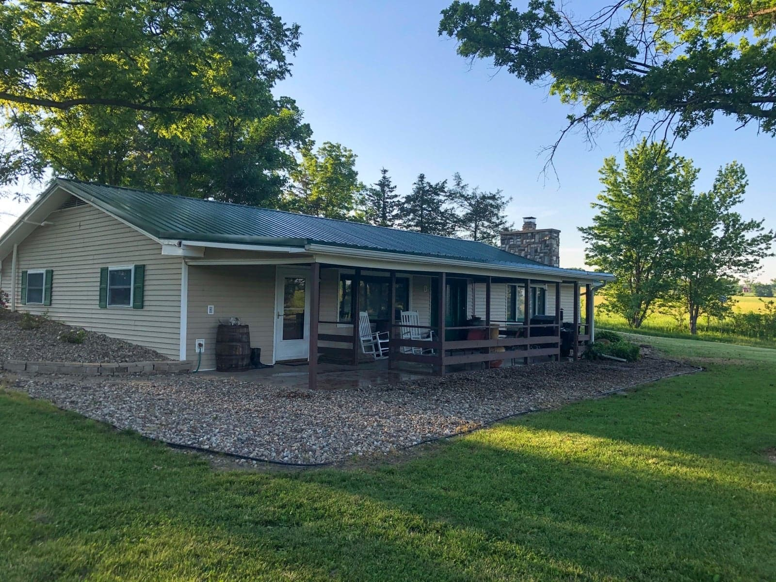 Country Home and 40 Acres For Sale
