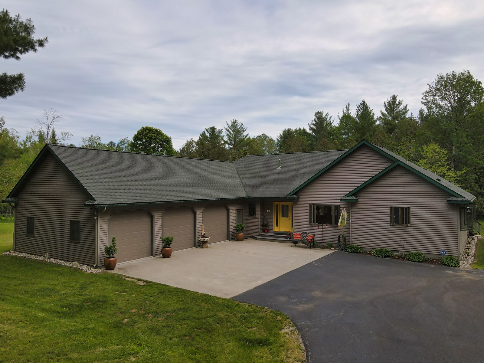 Waterfront Home for Sale on Crooked Creek Atlanta MI