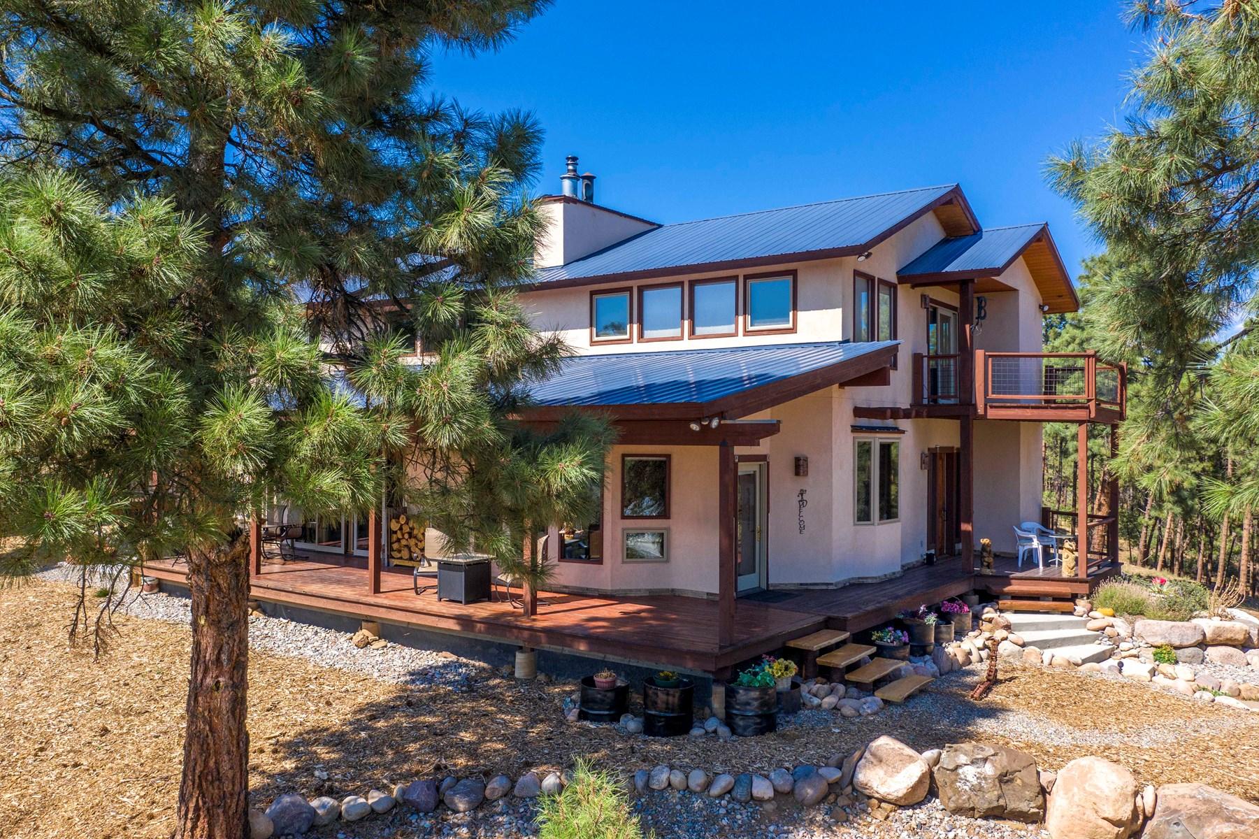 Colorado Mountain Luxury Home for Sale on Acreage
