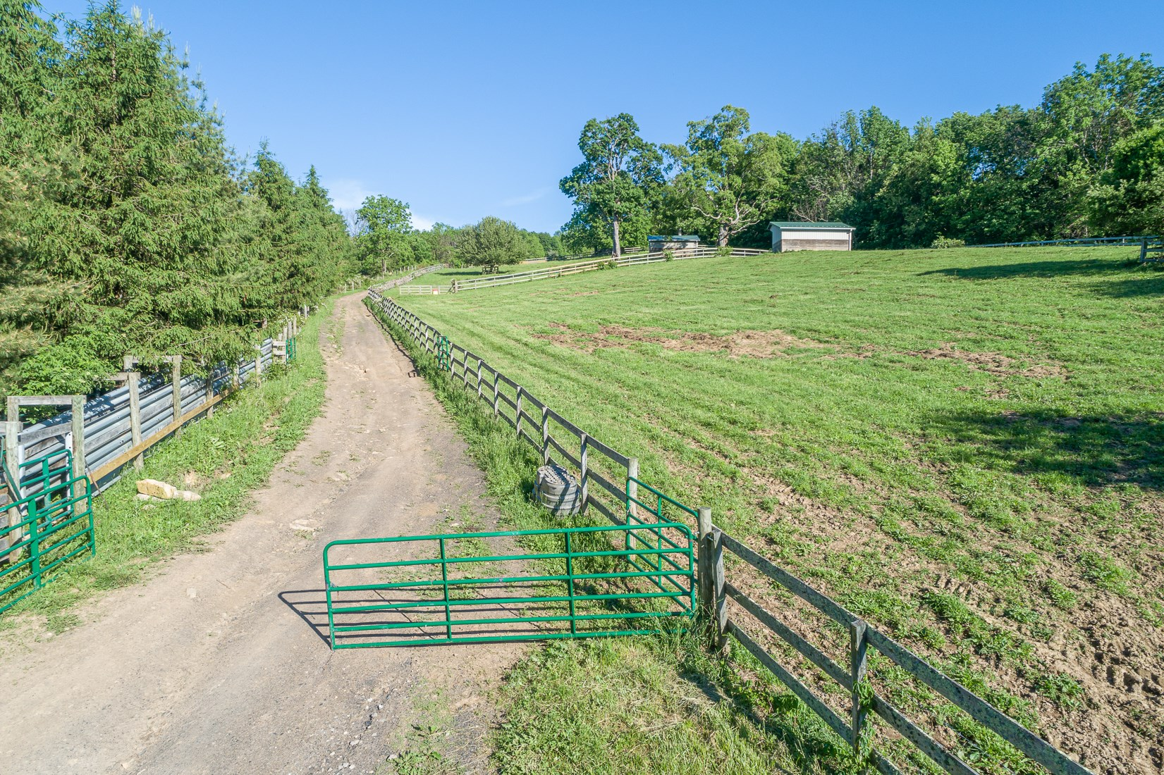 Upper Fields and Cattle Working Pen