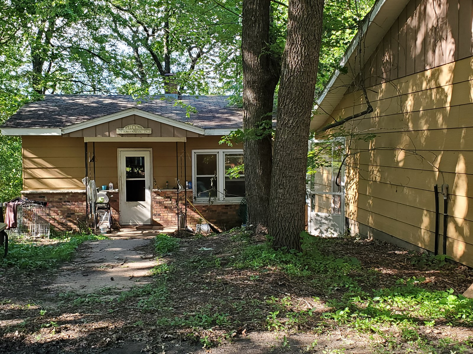 Home for Sale on Bass Lake in Waupaca, WI
