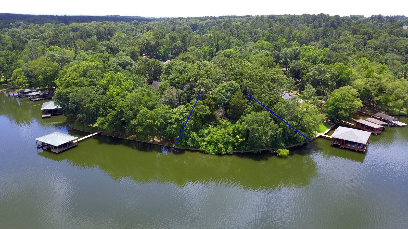 WATERFRONT LOT FOR SALE LAKE PALESTINE NEAR TYLER TEXAS