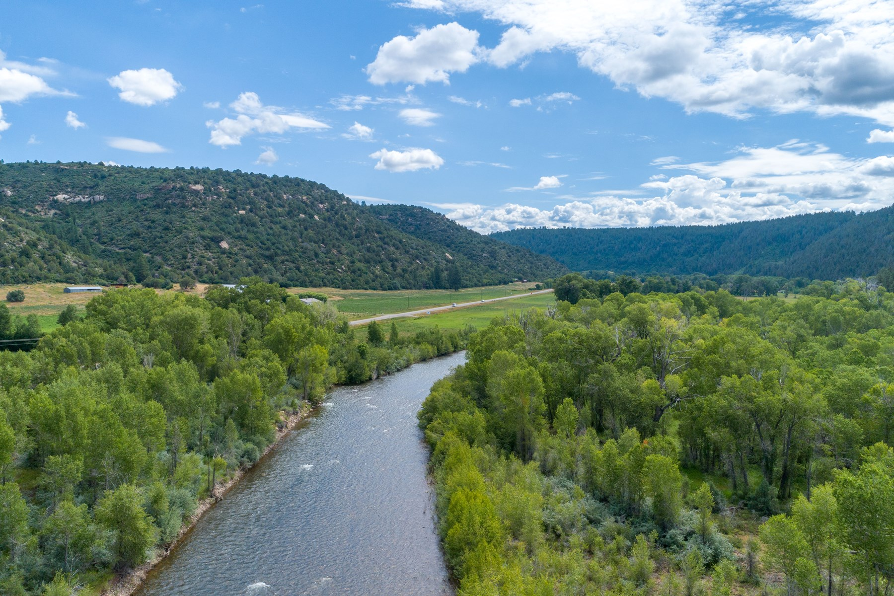 18 acres of private land on the Dolores River, Colorado