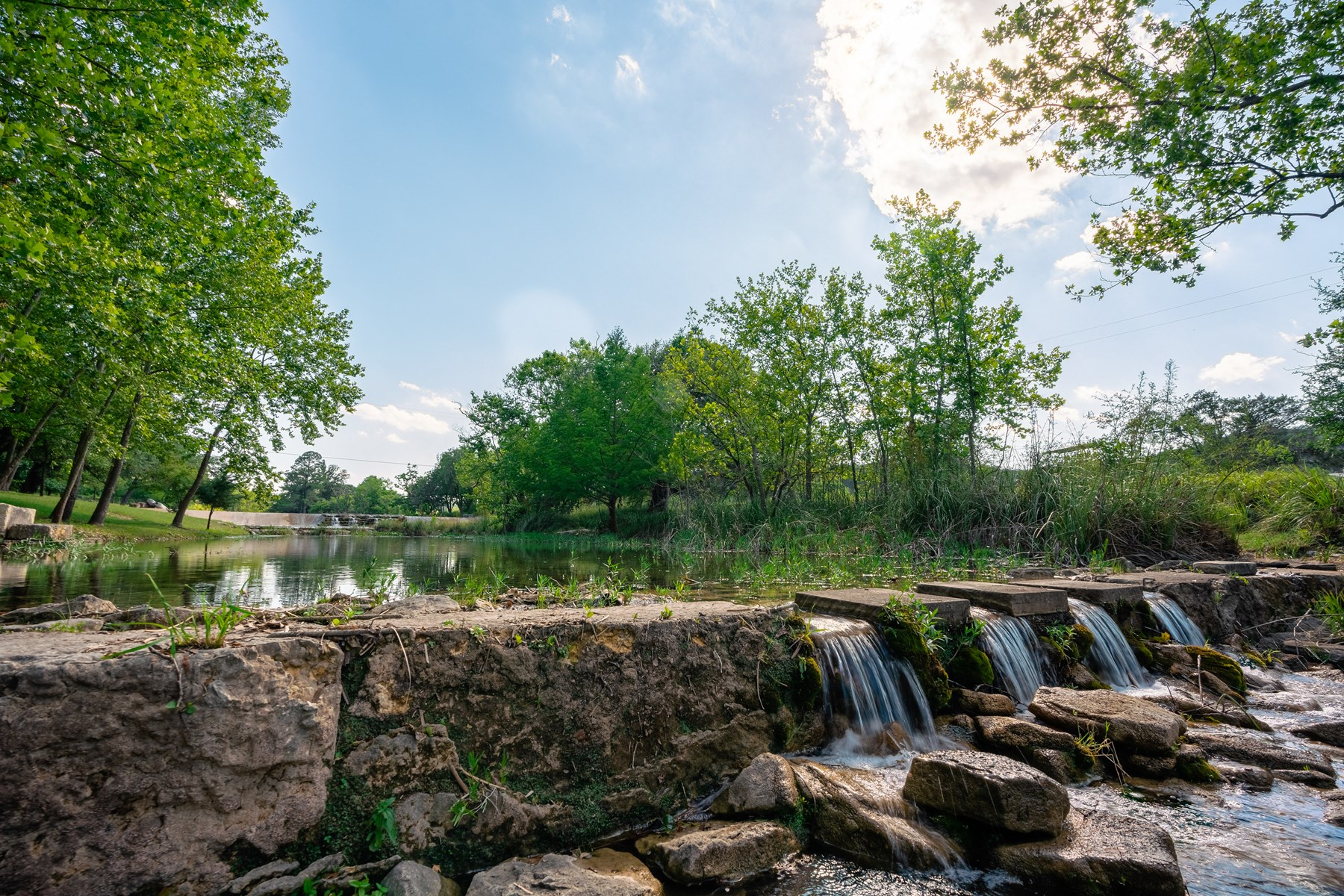 Country Home & Land For Sale on Live Water Creek in Kerr Co.