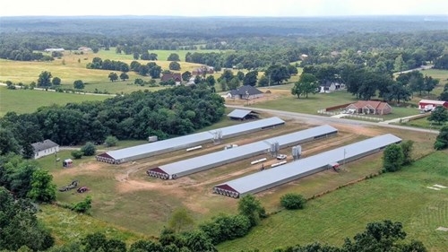 Poultry Farm For Sale - Benton County