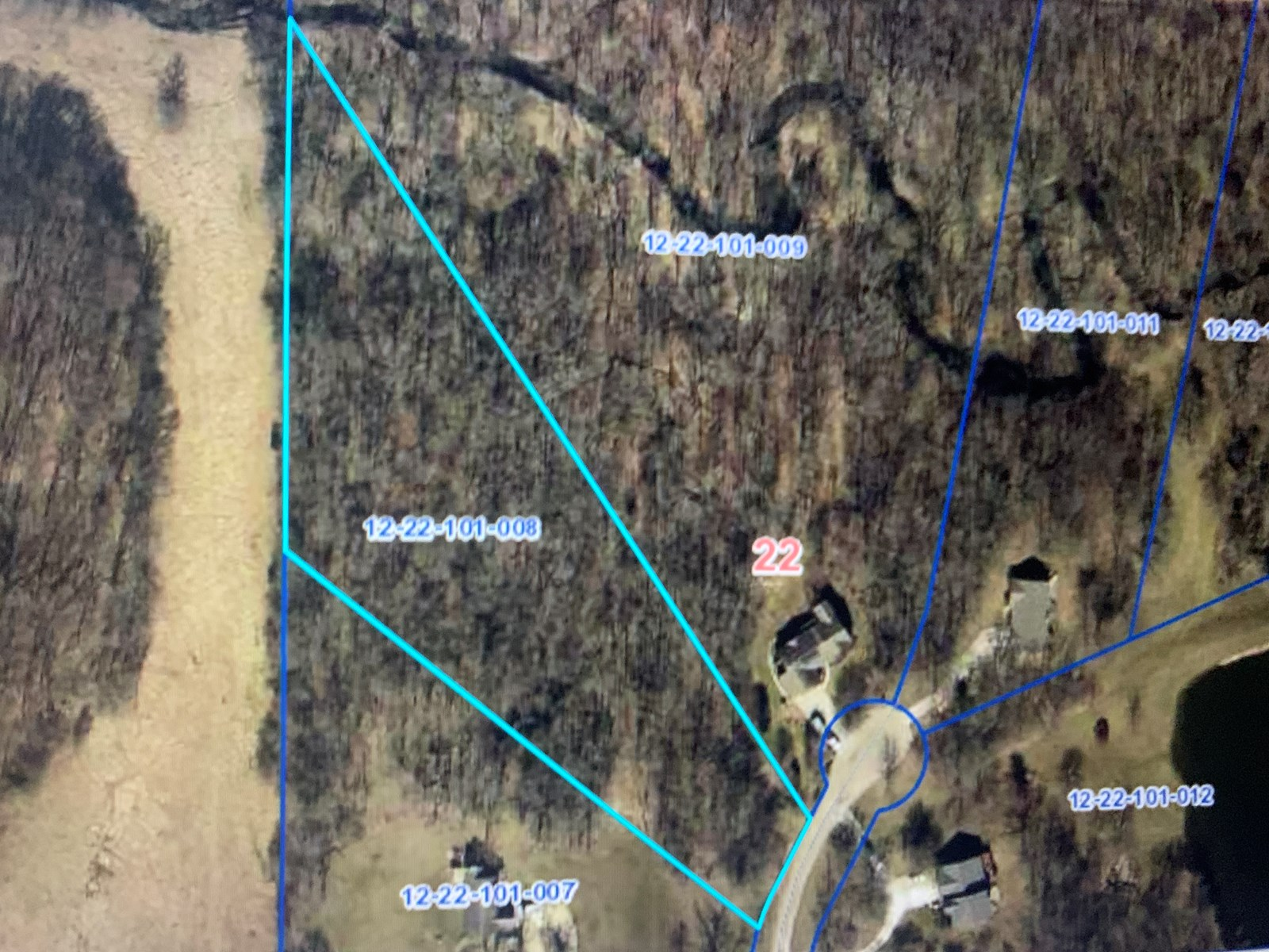 Wooded Lot in Still Meadows Subdivision