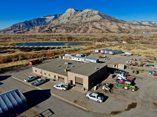 Colorado Maintenance Building and RV Storage for Sale