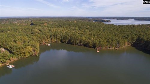 Waterfront Building Lot on Lake Monticello in South Carolina