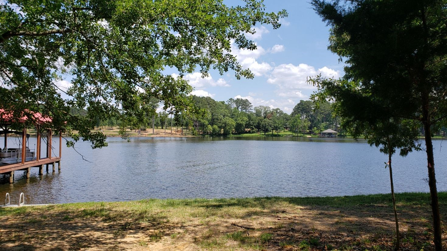 WATERFRONT LOT ON LAKE PALESTINE IN EAST TEXAS