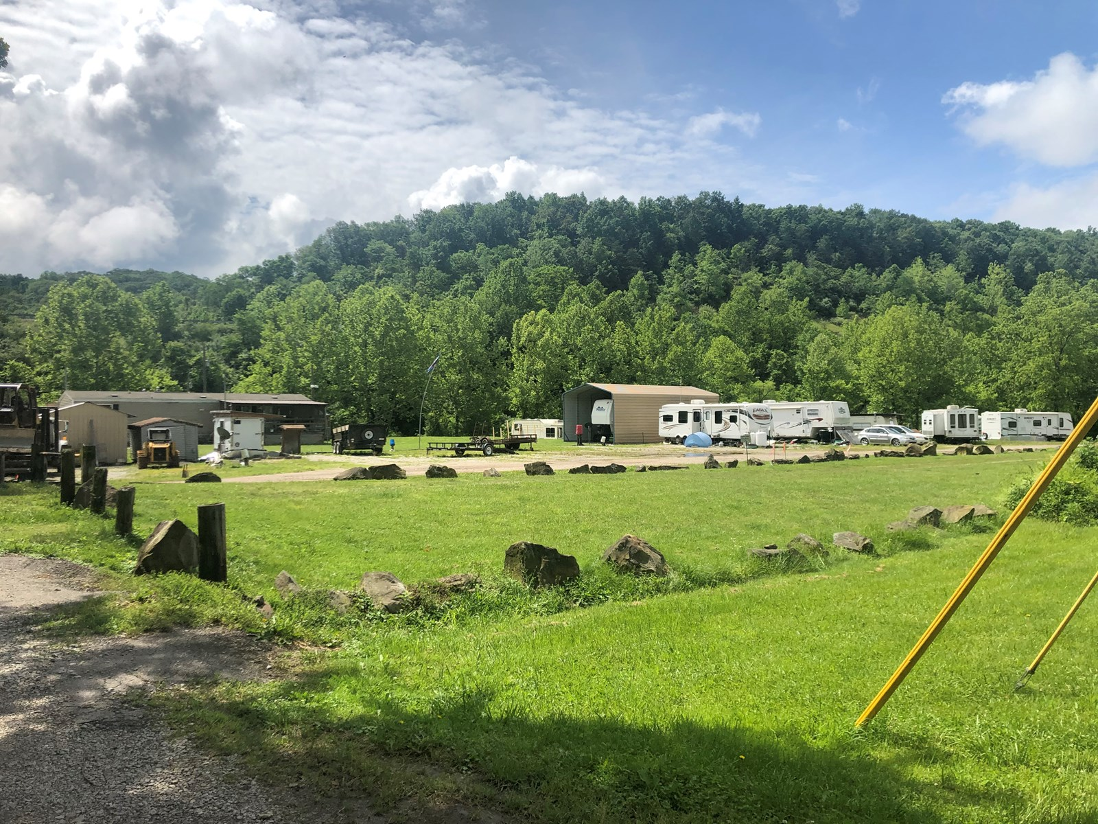 RV Campground Offering 53 Lots in Ritchie County, WV