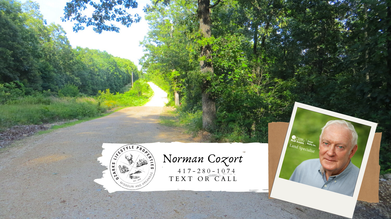 Acreage for Sale in the Ozarks!