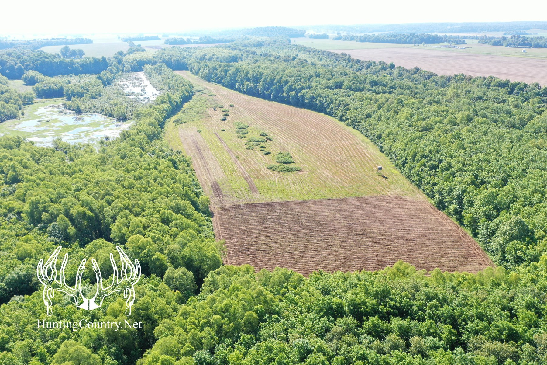 900 acres m/l Pope County, Illinois HUNTING RANCH FOR SALE