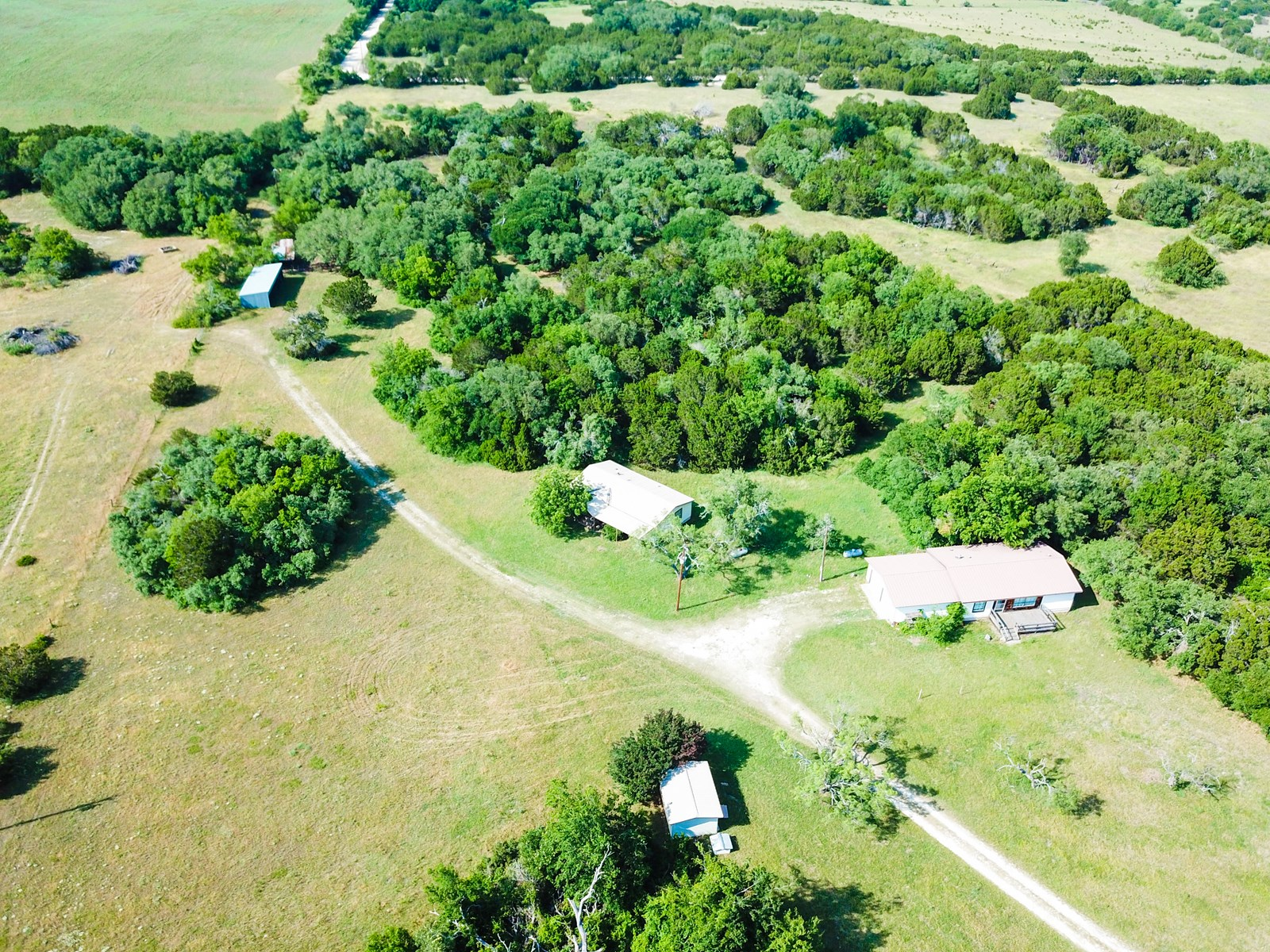Land for Sale in Texas - 62+/- Acres in Hamilton County