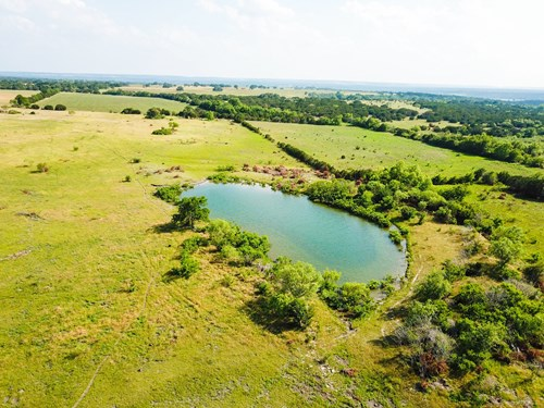 Land for Sale in Texas - 50+/- Acres in Hamilton County