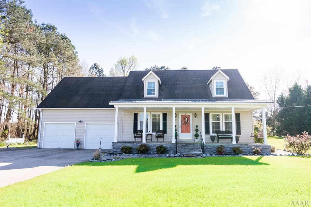 CHOWAN COUNTY, NC COUNTRY HOME FOR SALE