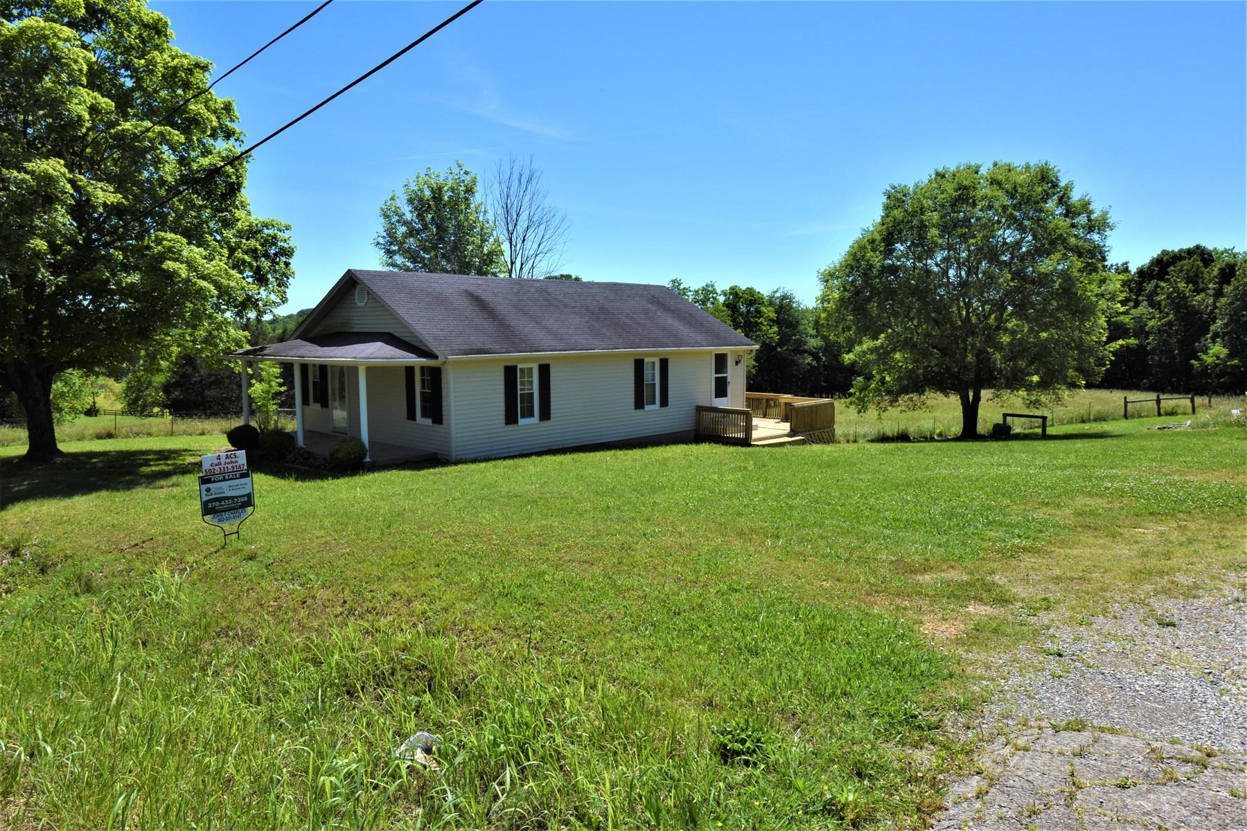 Little House, Mini-Farm, Fencing, Hardwood Floors, Pond
