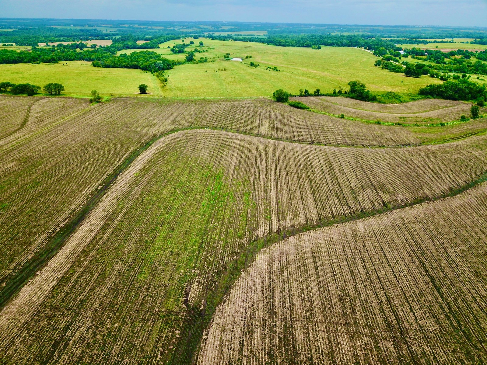 Row Crop Land For Sale Osage County Kansas