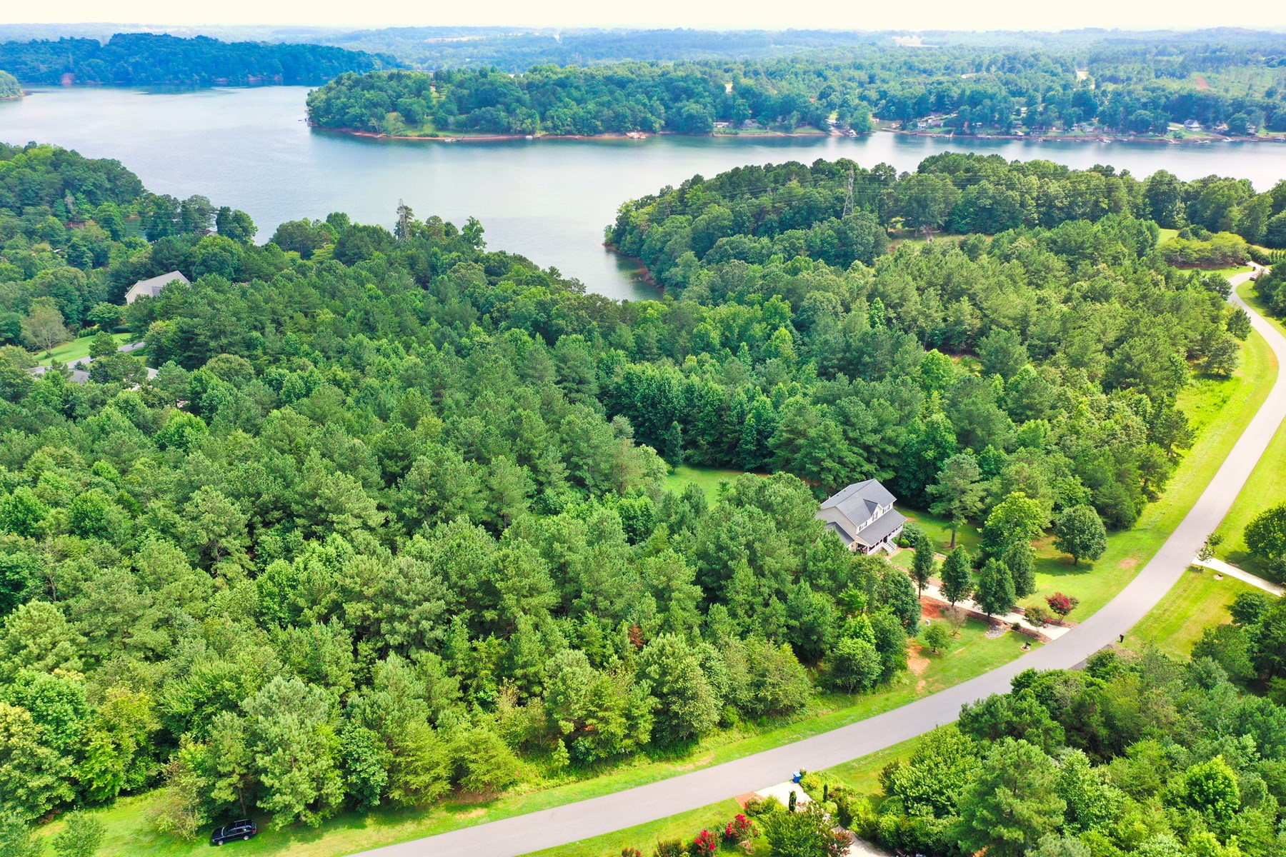 Large Lot For Sale in Gated Lakefront Community