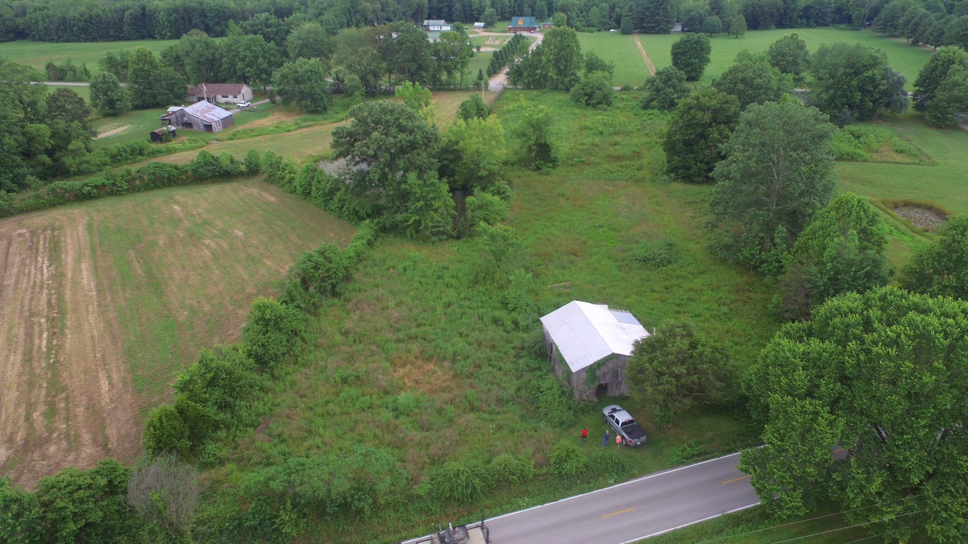 VACANT LAND-BUILDING SITES-BARN-PASTURE-POND-DUNNVILLE, KY.