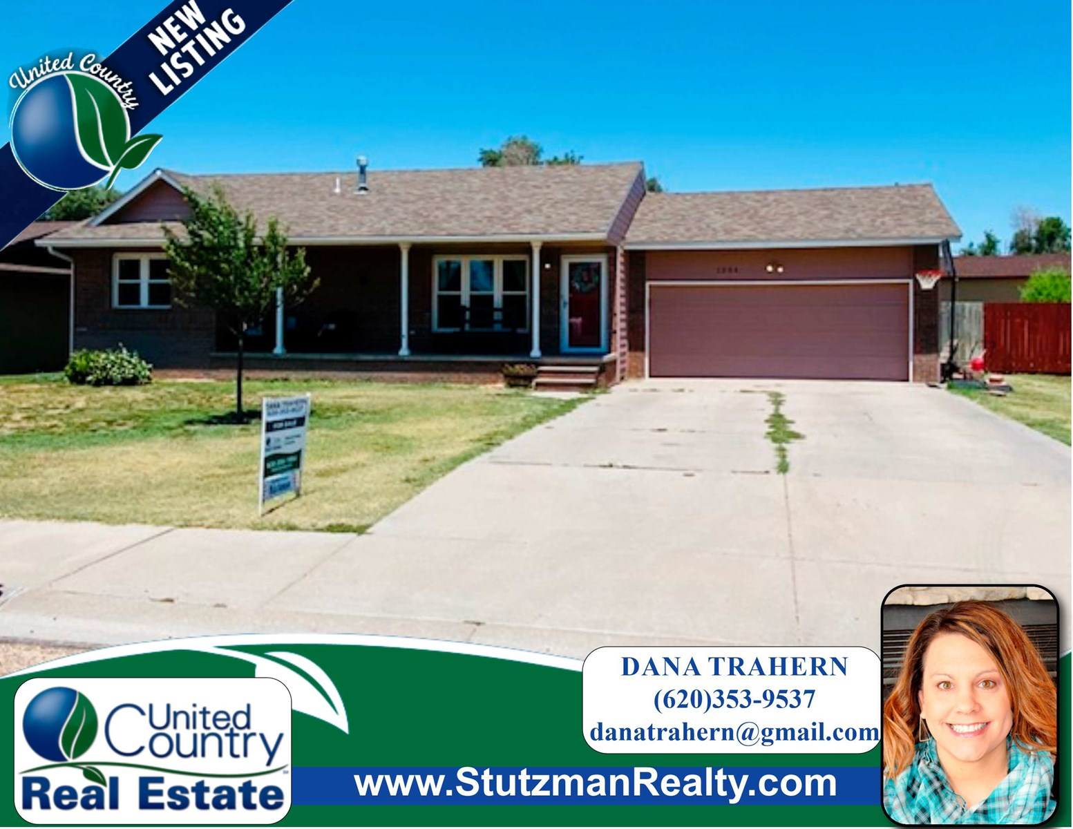 ADORABLE FOUR BEDROOM HOME FOR SALE IN ULYSSES, KS
