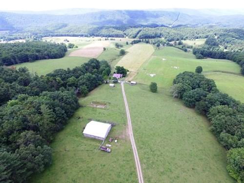 Bland County Farm in Southwest Virginia