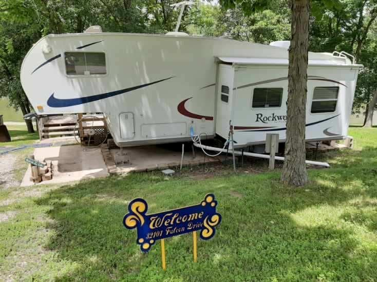 Waterfront Camper Lake Lot For Sale