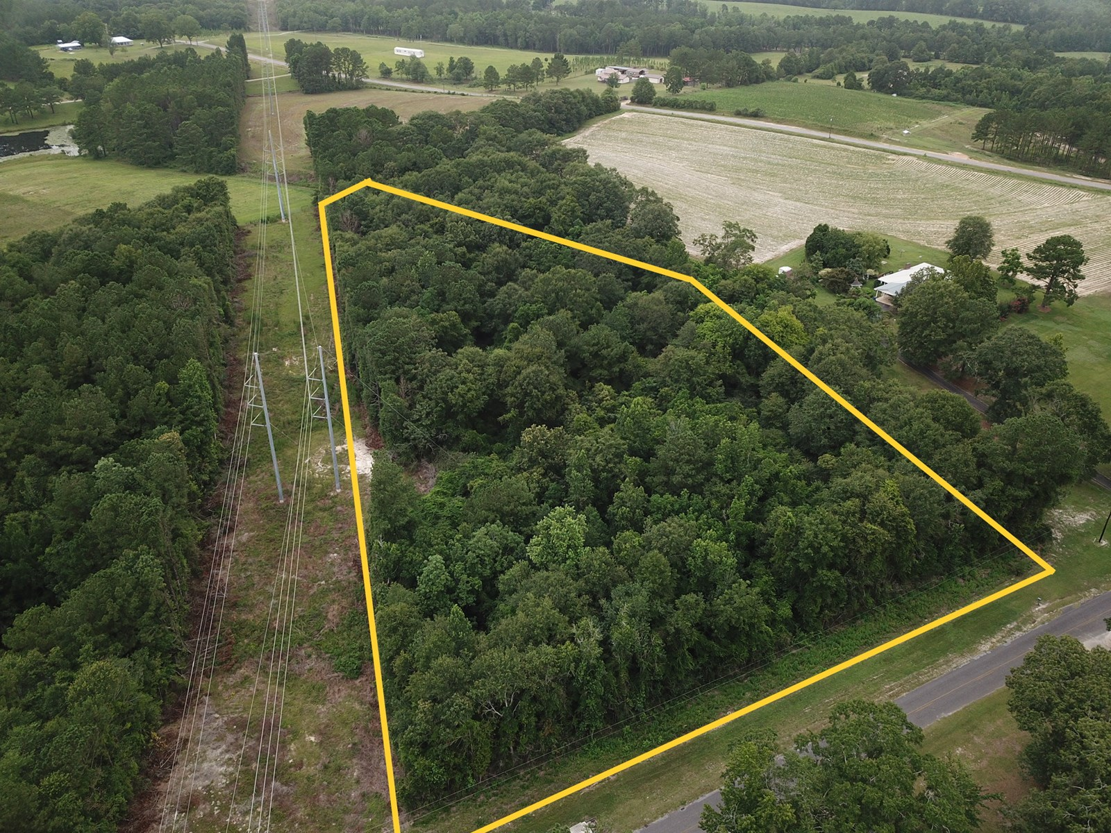 Land for sale Andalusia, Alabama - Wiggins Road