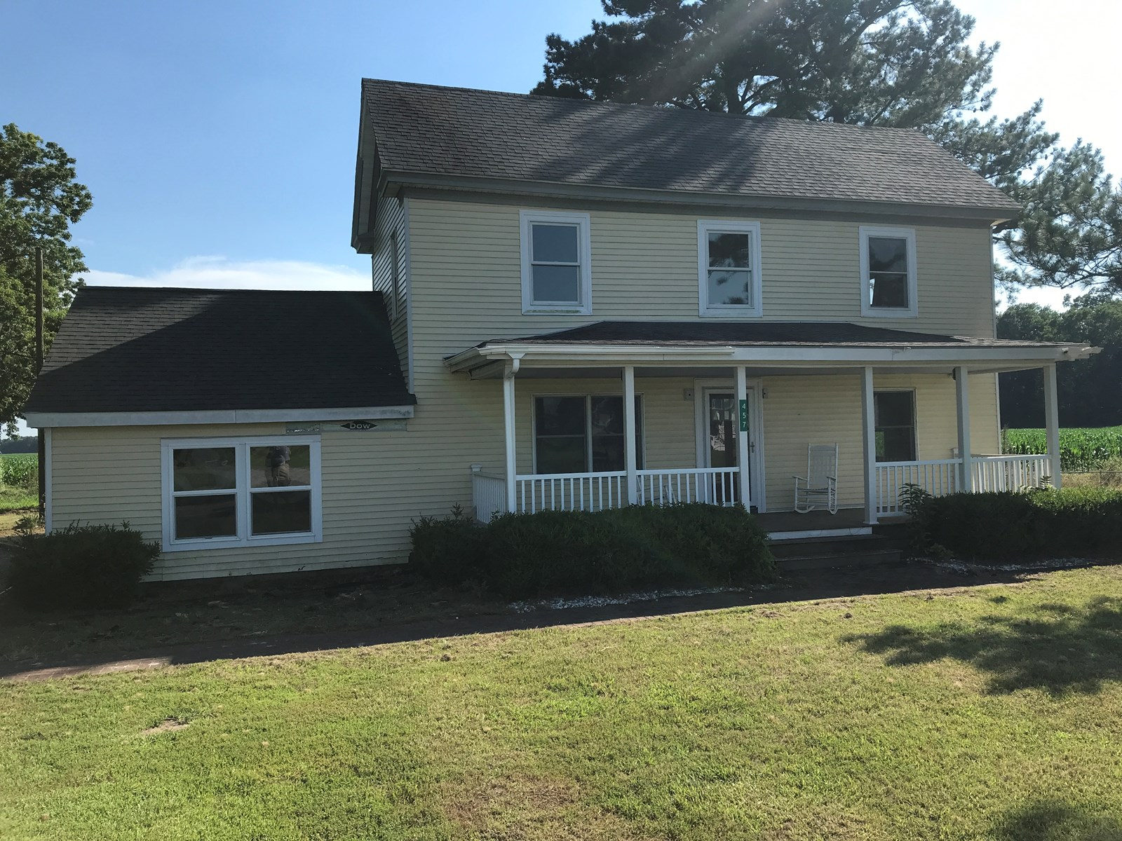 COUNTRY FARMHOUSE AUCTION-HERTFORD, NC HOME